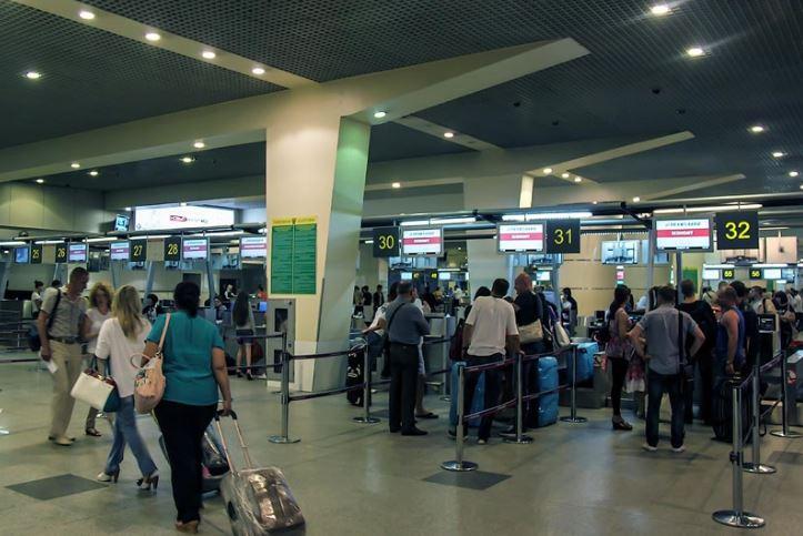 Островная система регистрации на рейсы в Домодедово