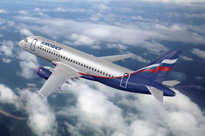 Самолёт рассийской авиакомпании Аэрофлот