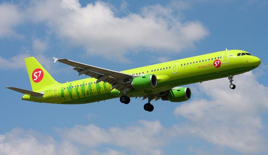 Самолёт российской авиакомпании S7 Airlines