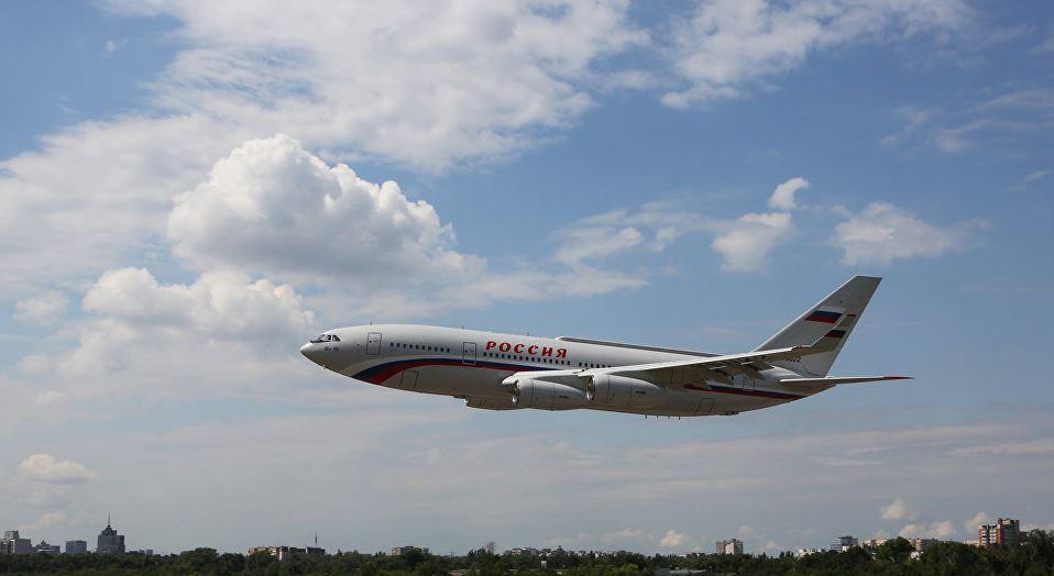 Воздушное судно Специального лётного отряда «Россия»