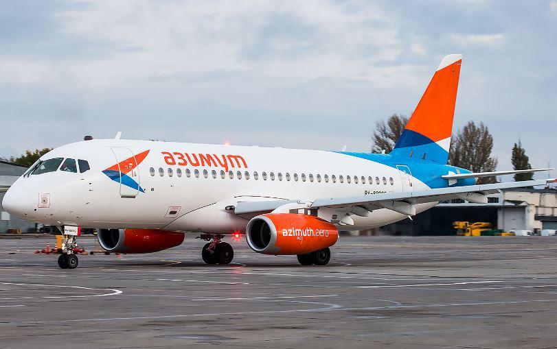 Самолёт российской авиационной компании Азимут