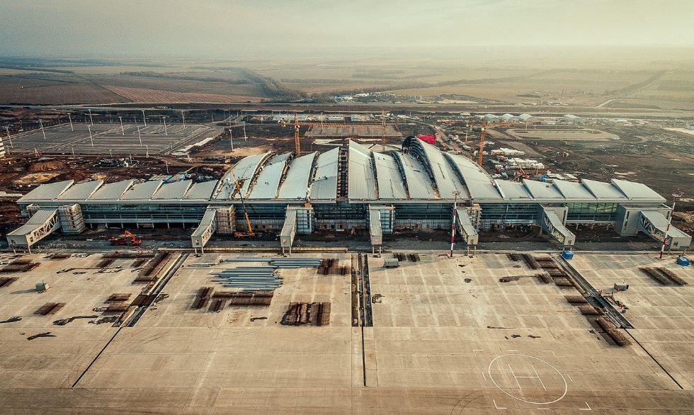 Базовый аэропорт авиакомпании Азимут - Платов в Ростове-на-Дону