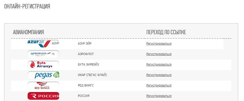 Официальный сайт аэропорта Казань - Онлайн-регистрация