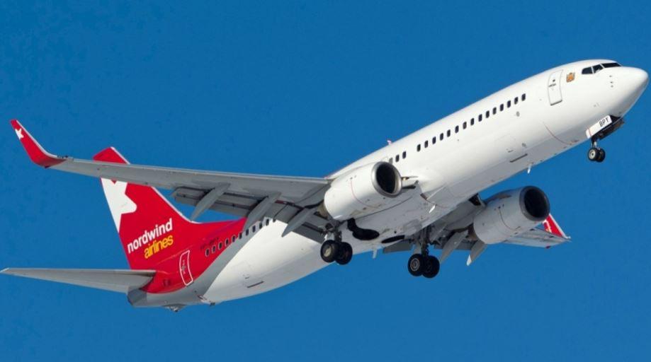 Самолёт российской авиационной компании Северный ветер