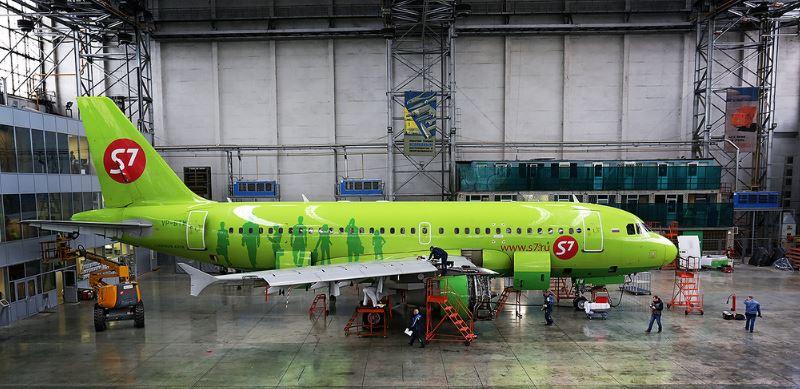 Холдинг S7 Group - Техническое обслуживание самолёта