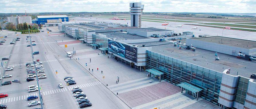 """Аэропорт """"Кольцово"""" - базовый аэропорт авиакомпании Уральские авиалинии"""