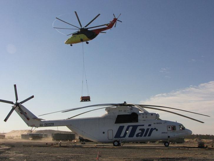Вертолёты российской авиационной компании ЮТэйр