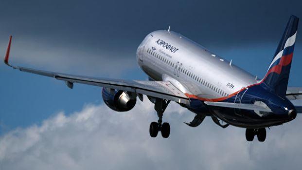 Самолёт российской авиационной компании Аэрофлот