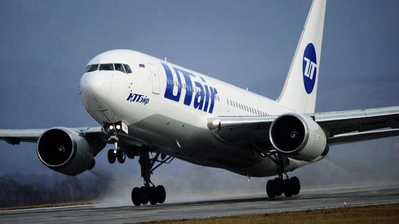 Самолёт российской авиационной компании Utair