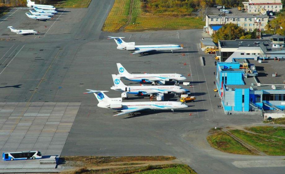 """Аэродром """"Западные Кневичи"""" аэропорта Владивосток"""